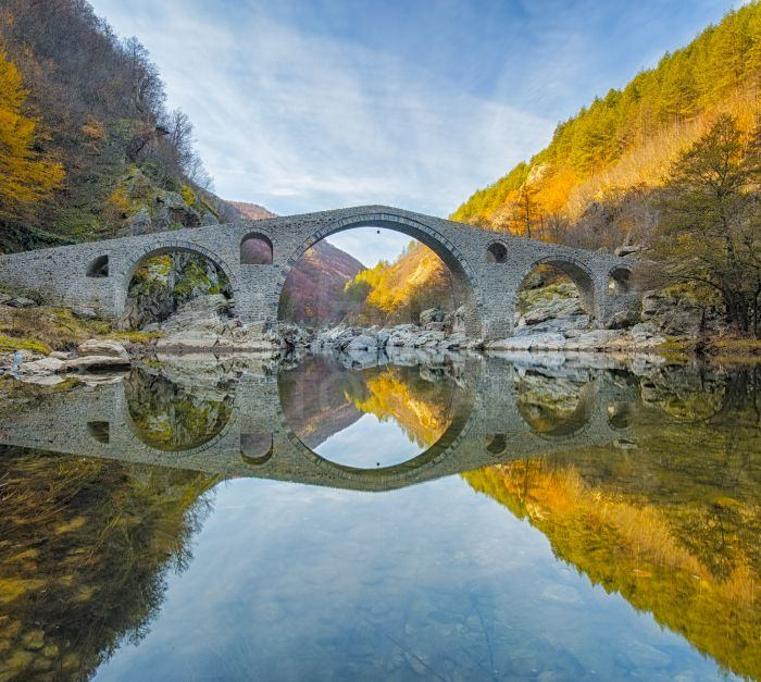 Southern Bulgaria has many beautiful stone bridges, many of which are in very remote locations