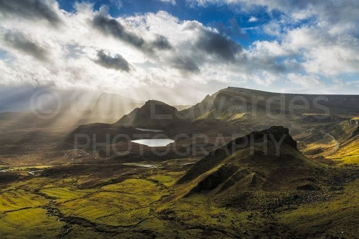 The Quiraing provided some nice opportunities before the snow arrived
