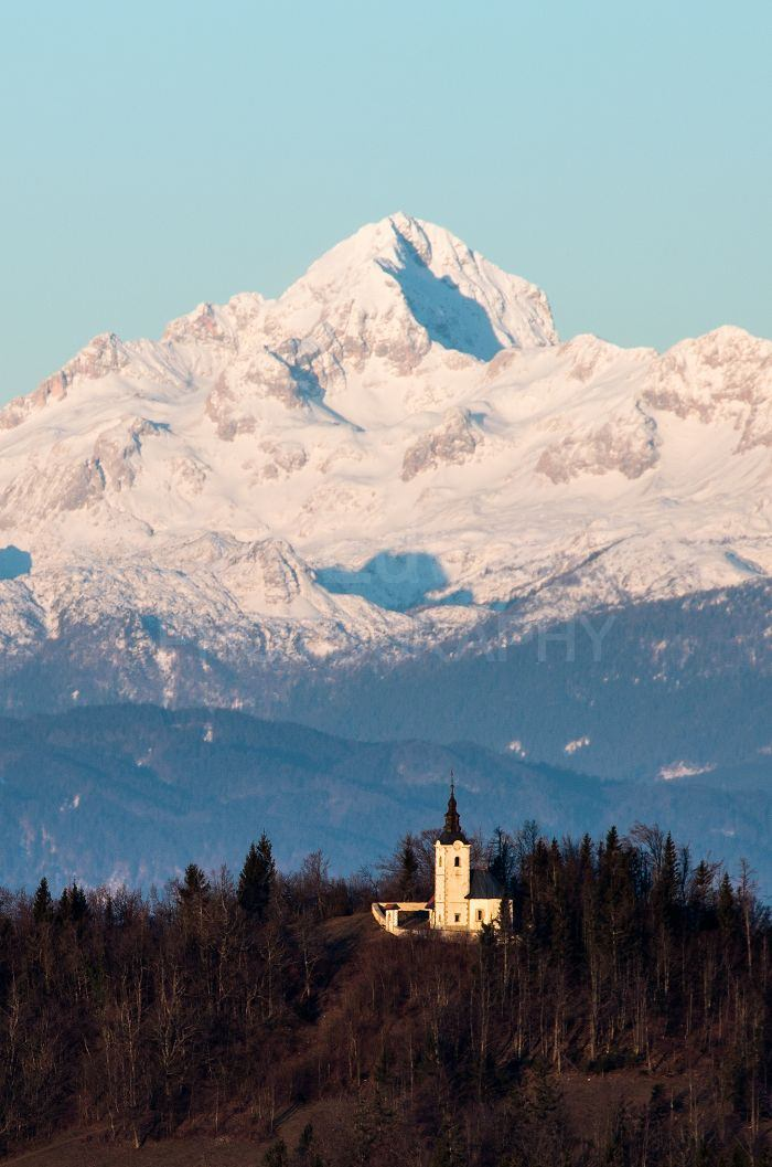 This new viewpoint shows Slovenia's highest peak, Triglav 2864m