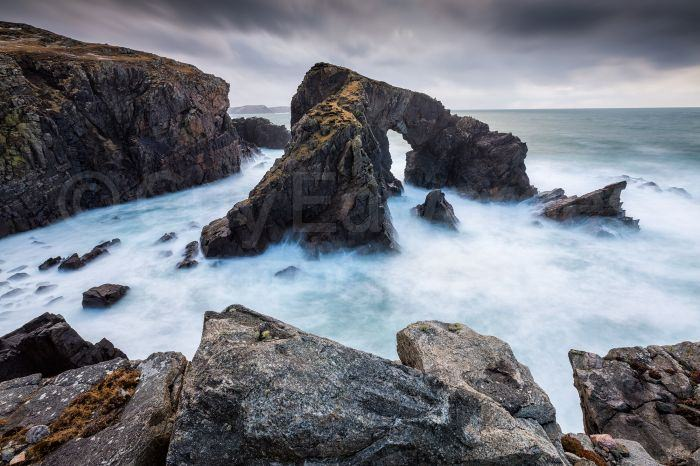 The sea spray was constantly blowing into our lenses here, making long exposures rather challenging!