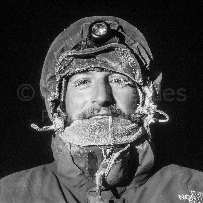At -35C it was vital to dress appropriately, even then there was the danger of losing the end of your nose!
