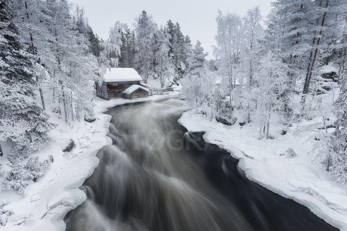 Myllykoski Mill on the Kitka River, Kuusamo